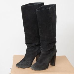 J Crew Bryce high-heel boots Made In Italy